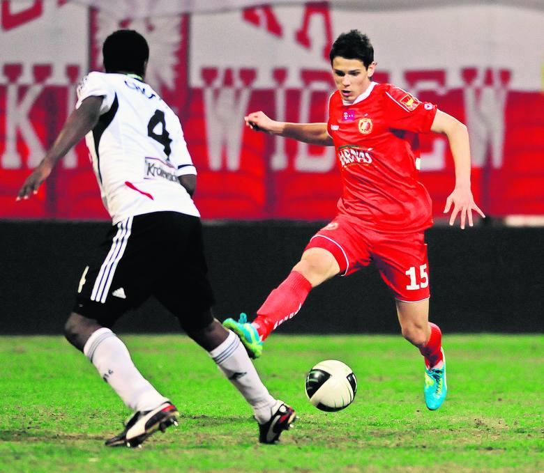 Mariusz Stępiński zagrał 45 minut w meczu z San Marino.