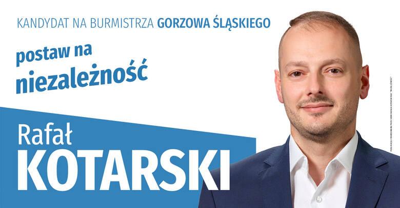 Nowym burmistrzem Gorzowa Śląskiego zostanie Rafał Kotarski.