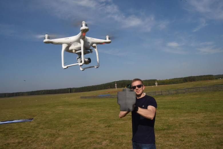Drony mają wzmocnić system bezpieczeństwa