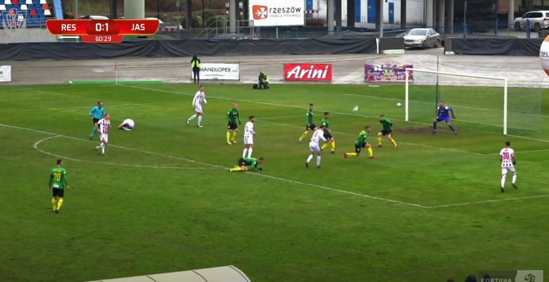Fortuna 1 Liga. Skrót meczu Resovia - GKS Jastrzębie 1:2 [WIDEO]