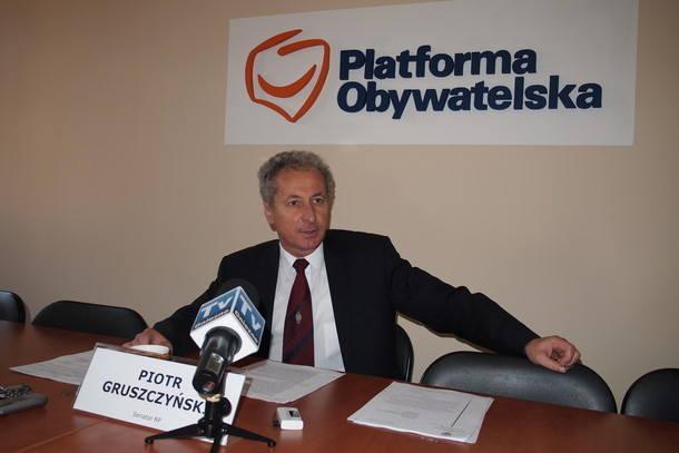 Piotr Gruszczyński, senator PO z Gniezna: Popieram Waldego Dzikowskiego, bo gdy był szefem wielkopolskiej PO, potrafił połączyć zróżnicowane grupy i