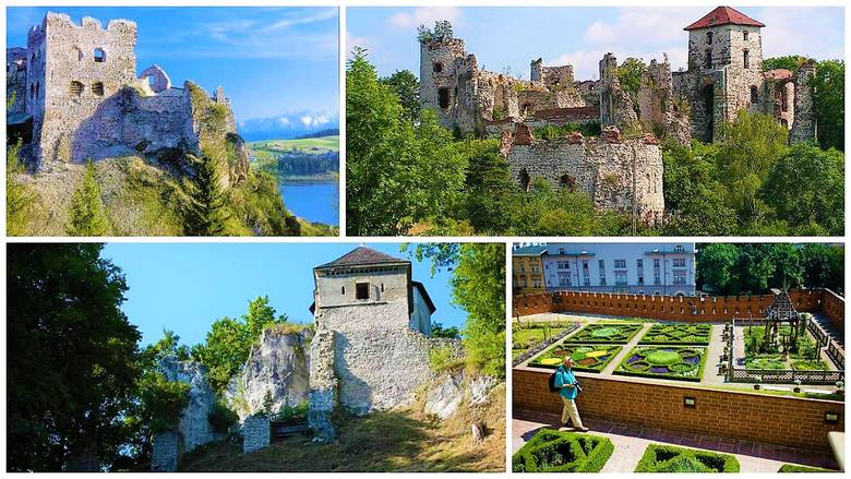 Oto najpiękniejsze zamki Małopolski [ZDJĘCIA]