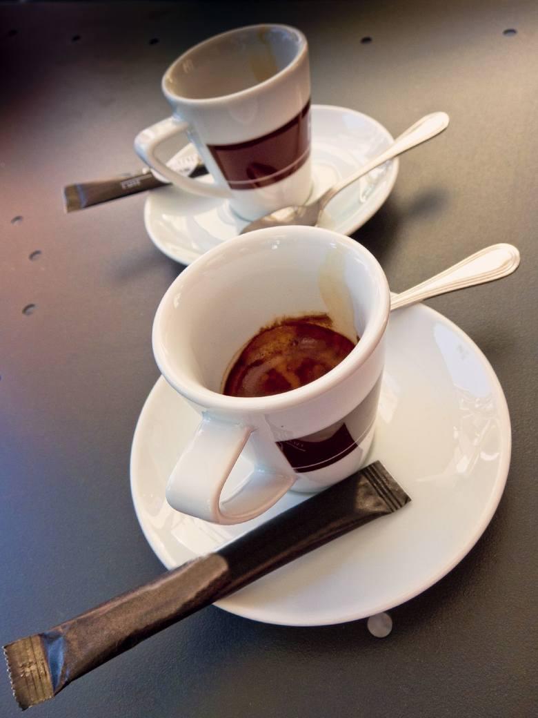 filiżanka espresso - 57 mg