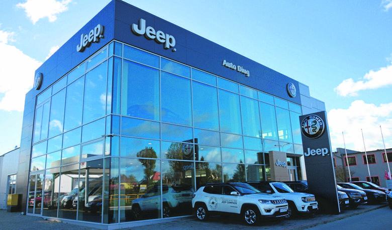 Słupski salon Auto Diug zmienił oblicze i dodał kolejną markę, którą jest Jeep