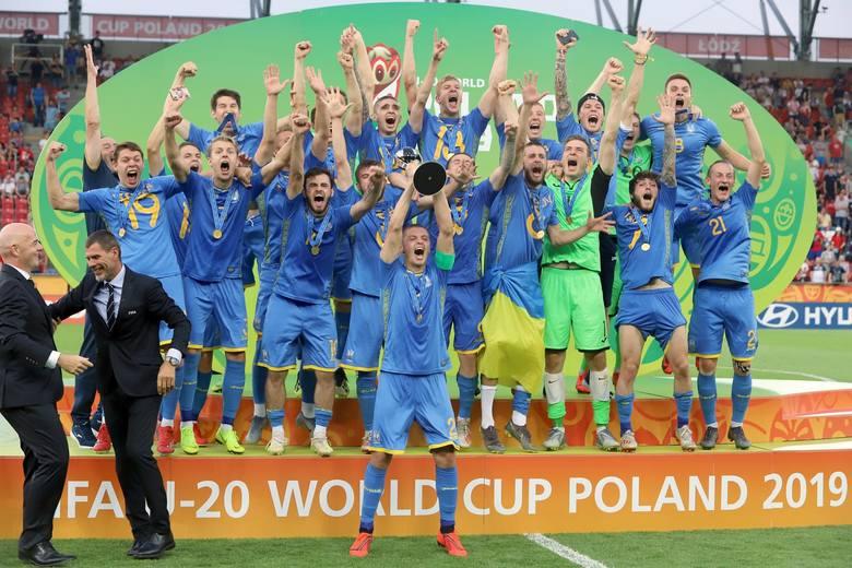 Piłkarze reprezentacji Ukrainy triumfowali na rozgrywanych w Polsce mistrzostwach świata do lat 20. W finale turnieju wygrali w Łodzi z Koreą Południową