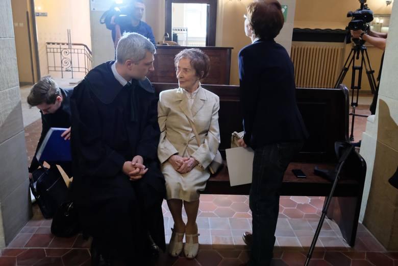Stefania Chlebowska stawiła się w sądzie w październiku 2018 roku, na pierwszy wyznaczony termin