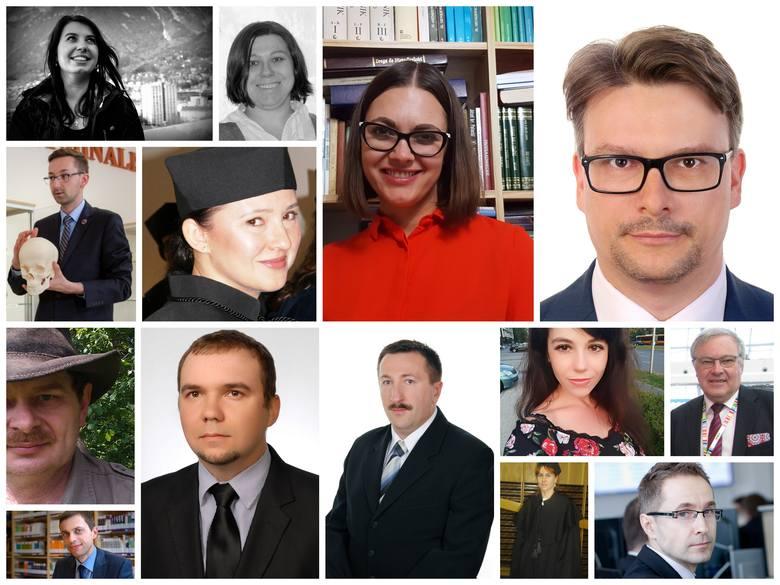 Przedstawiamy zdjęcia nauczycieli zgłoszonych w kategorii NAUCZYCIEL AKADEMICKI Stan na 09.10.2018 r.