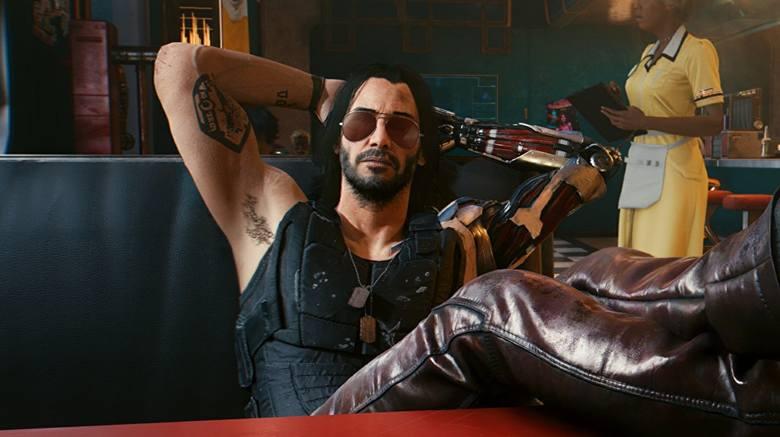 Johnny Silverhand - postać, której pierwowzorem jest Keanu Reeves.