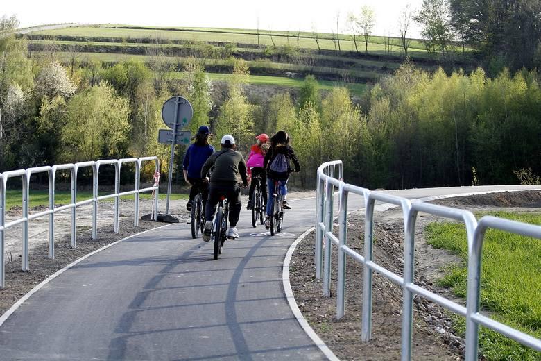 Nowa trasa rowerowa w Miechowie
