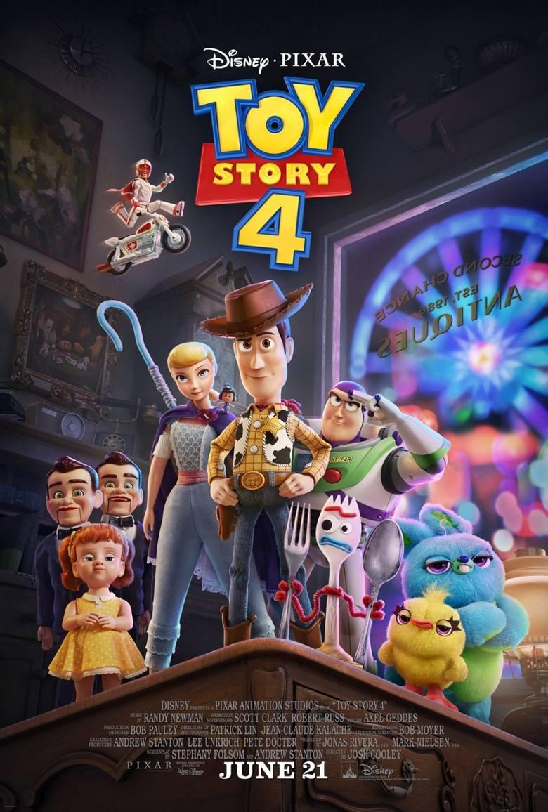 SALA NR 1 <br /> 16.08.2019 r. PIĄTEK <br /> 11:00 - Toy Story 4 – 2d dubbing USA 100'| bilety 12zł<br /> 14:00, 16:00, 18:00 - Toy Story 4 – 2d dubbing USA 100'| bilety 20zł I 18zł I 16zł<br /> 17.08.2019 r. SOBOTA <br /> 14, 16 ,18 - Toy Story 4 – 2d dubbing USA 100'| bilety 20zł I 18zł I...