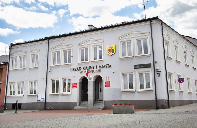 27 maja 1990 roku odbyły się pierwsze wybory do samorządu terytorialnego w Polsce, po 40 latach przerwy. W Przysusze  wyłoniono najpierw Radę Miasta