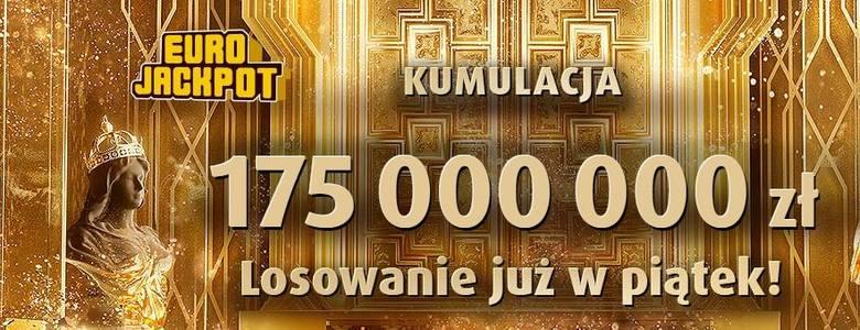 Eurojackpot 8.03.2019. Wyniki Eurojackpot Lotto 8 marca 2019. Do wygrania jest 175 mln zł - losowanie na żywo [wyniki, numery, zasady]