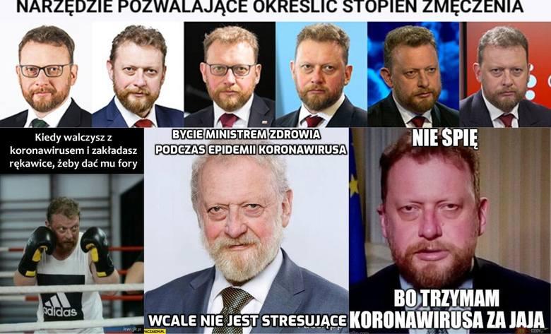 Koronawirus. Niewyspany bohater na froncie walki COVID-19. Minister Łukasz Szumowski [MEMY] 30.03.