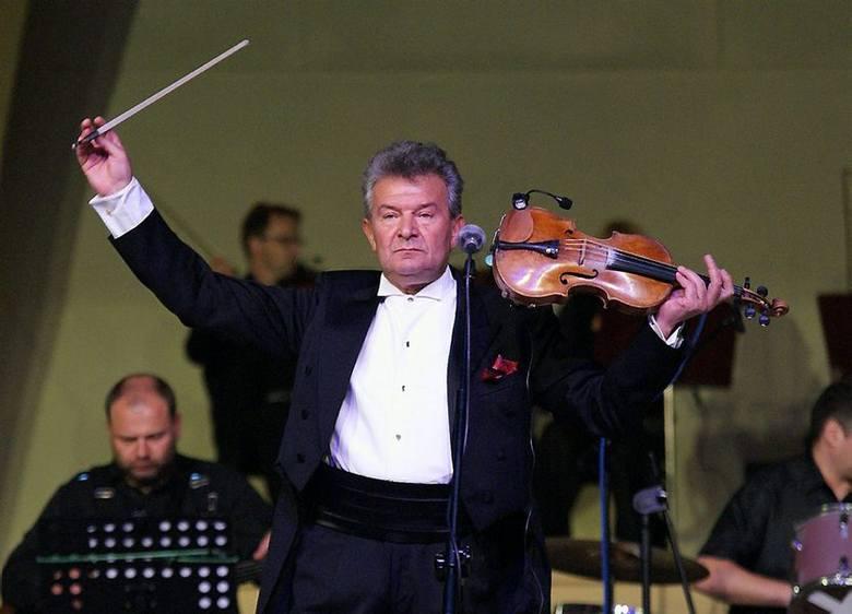 Vadim Brodski podczas inowrocławskiego koncertu