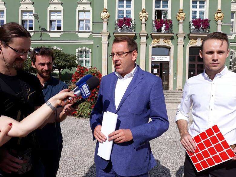 Dawid Krystek zarejsterował listy. Jest kandydatem SLD na prezydenta