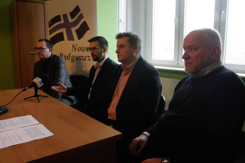 Nowa Bydgoszcz (od lewej Paweł Skutecki, Piotr Najzer, Marcin Sypniewski i Roman Puchowski).