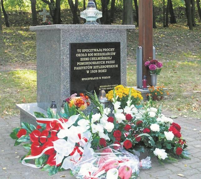 Jan Gulczyński pilnuje, aby harcerze dbali o miejsce pamięci w Dorposzu Szlacheckim. I nie tylko o to.