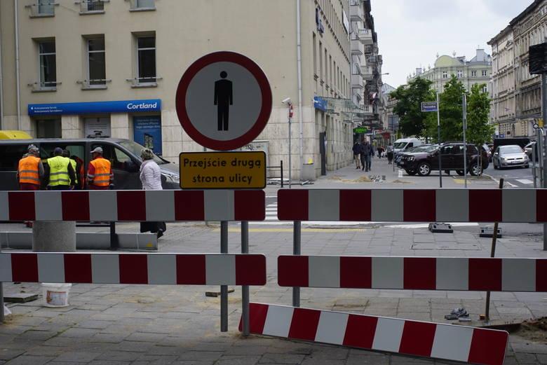 Poznań: Rozpoczęła się przebudowa ulic w centrum miasta - Taczaka i Garncarskiej. Utrudnienia także na placu Kolegiackim