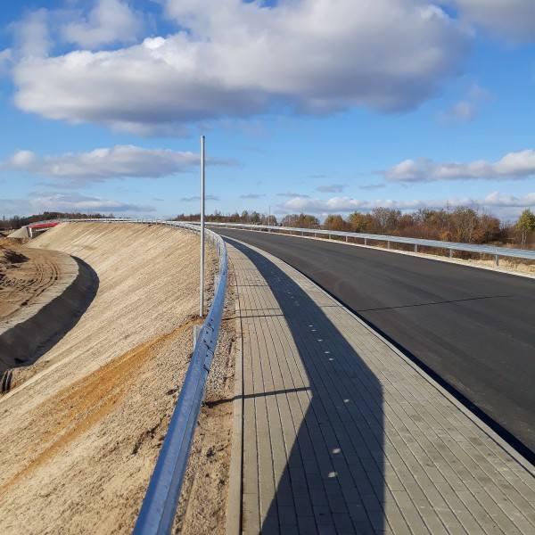 Zdjęcia z budowy A1 pod Częstochową i S1 pomiędzy Pyrzowicami a Podwarpiem