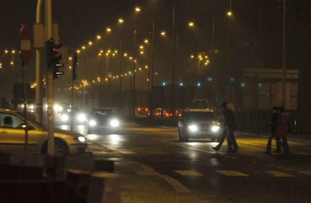 Oświetlenie ulic SzubińskaOświetlenie ulic - Szubińska