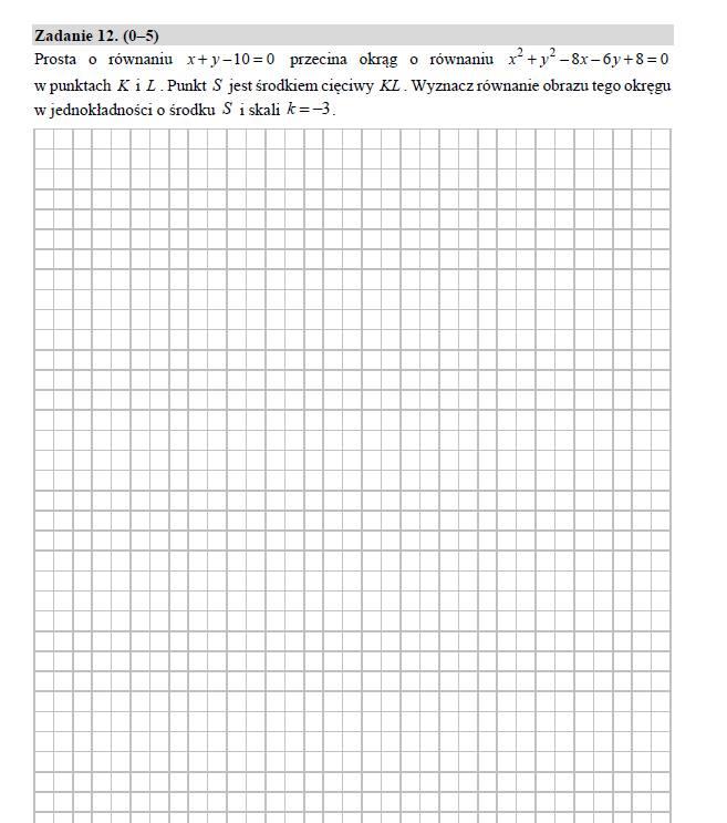 matura rozszerzona z matematyki 2021 arkusz