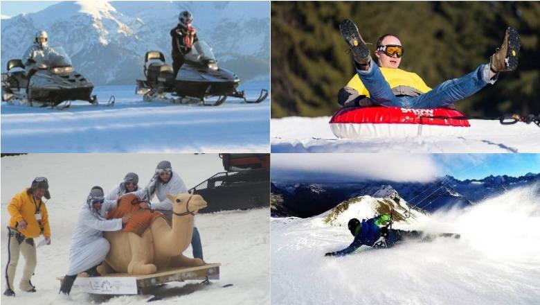 Ferie 2020. Góry to nie tylko narty. Oto 10 sposobów na nietypową zabawę na śniegu [GALERIA] 26.01.