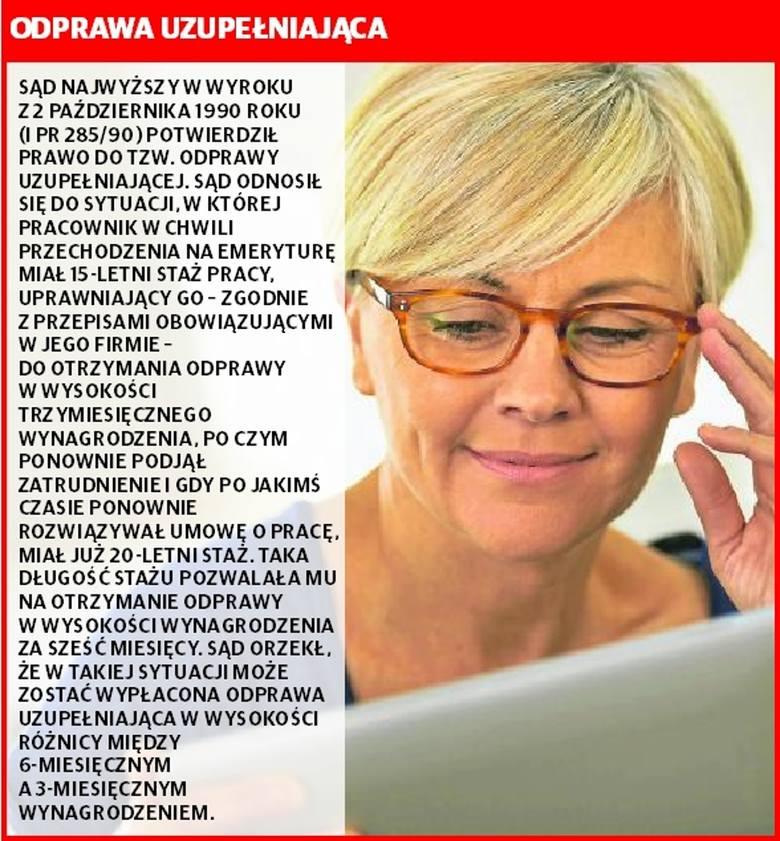 Sprawdź, czy należy Ci się odprawa emerytalna lub rentowa