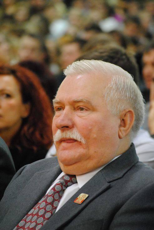 Lech Wałęsa w Zielonej Górze