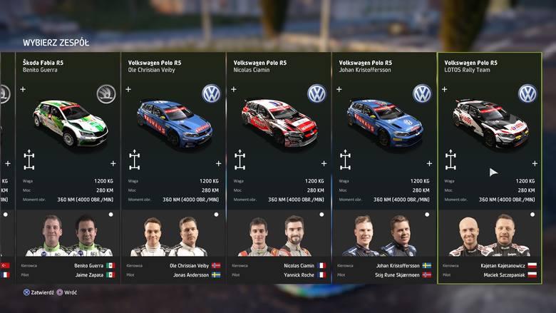 WRC 8 to licencjonowana gra wideo 2019 World Rally Championship (dostępna na PlayStation 4, XBOX i PC). Nigdy wcześniej żadna oficjalna symulacja wyścigów