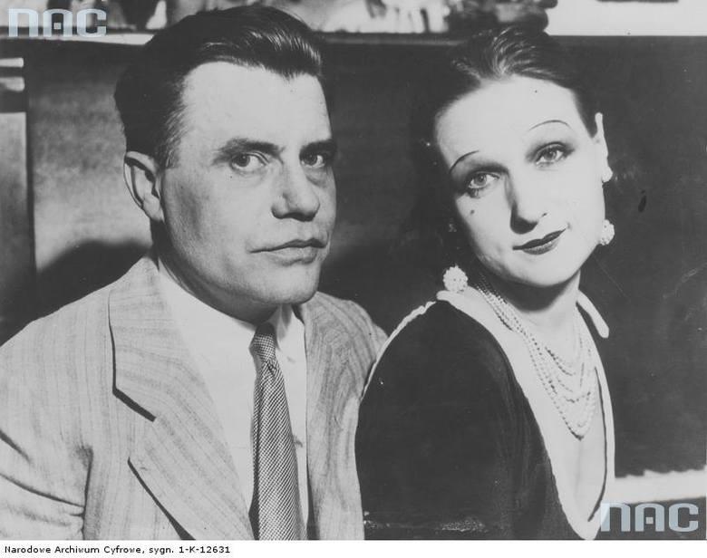 Miss Polonia Janina Smolińska z mężem Walterem Grabowskim z Los Angeles.