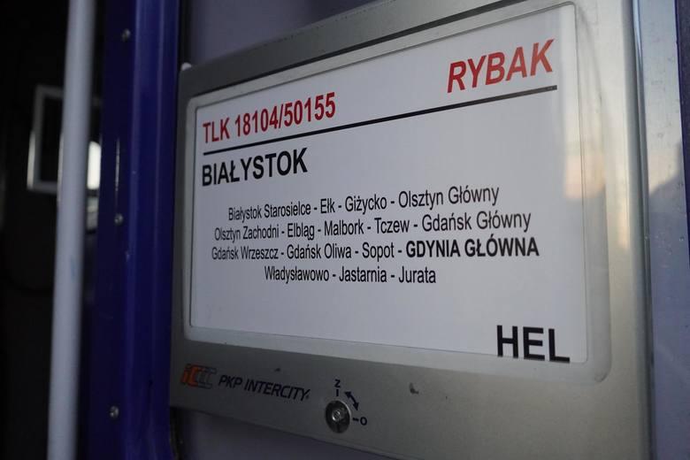 Bialystok 24.08.2019 pociag do jastarni droga fot. anatol chomicz / polska press / gazeta wspolczesna / kurier poranny