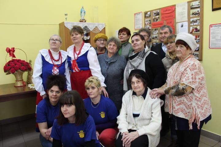 W poniedziałek 5 marca w świetlicy wiejskiej w Byczynie Kolonii odbyło się spotkanie pań z miejscowego KGW. Gospodynie pamiętające stare zwyczaje wielkopostne