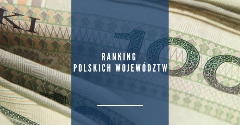 Ranking najzamożniejszych polskich województw. Które województwo jest najbogatsze? Sprawdź >>