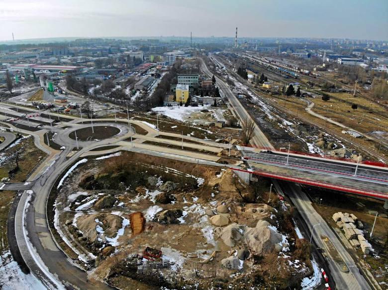 Przebudowa i rozbudowa ul. Grygowej z obustronnymi buspasami, budową wiaduktów i niezbędnej infrastruktury