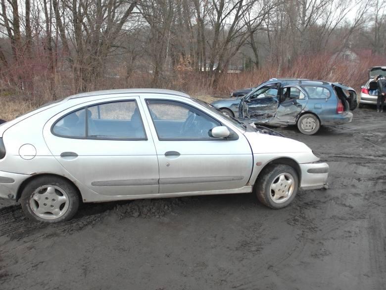 Zderzenie trzech aut na ulicy Szczecińskiej. Sprawca był pijany