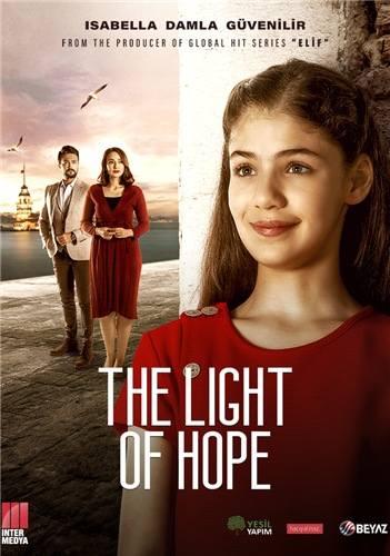 "Plakat reklamowy serialu ""Promyk nadziei""."