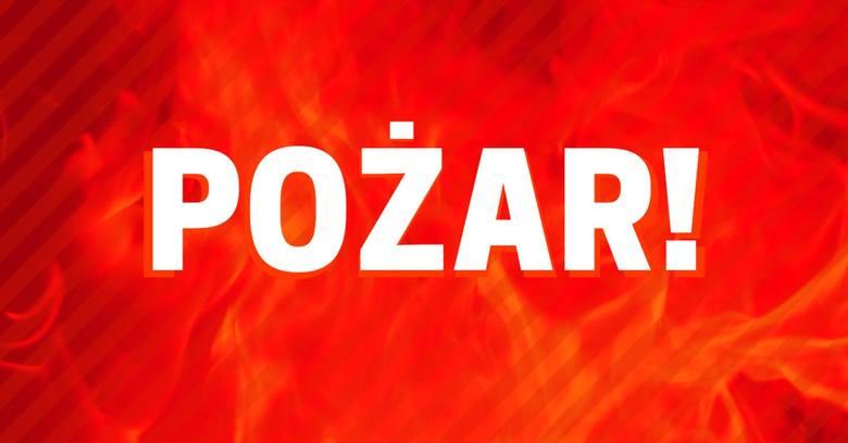 Pożar domu jednorodzinnego w Tczewie we wtorek, 28.07.2020. Paliło się łóżko. Troje lokatorów: kobieta, mężczyzna i dziecko podtrutych dymem