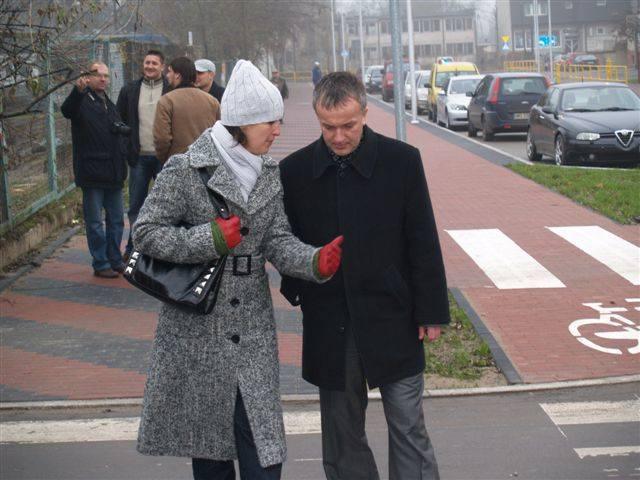 Odbiór ulicy Korczaka