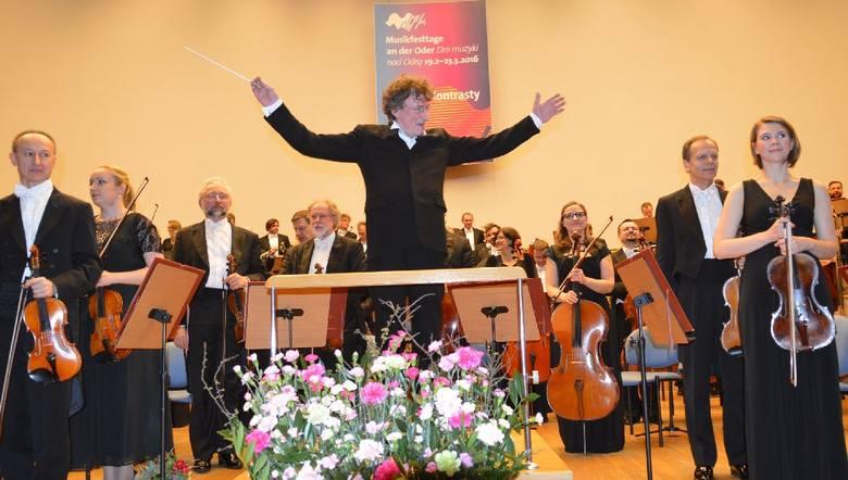 Filharmonia Zielonogórska, 17 marca  2016 r.: koncert Orkiestry Symfonicznej Filharmonii Narodowej pod batutą Jacka Kaspszyka.
