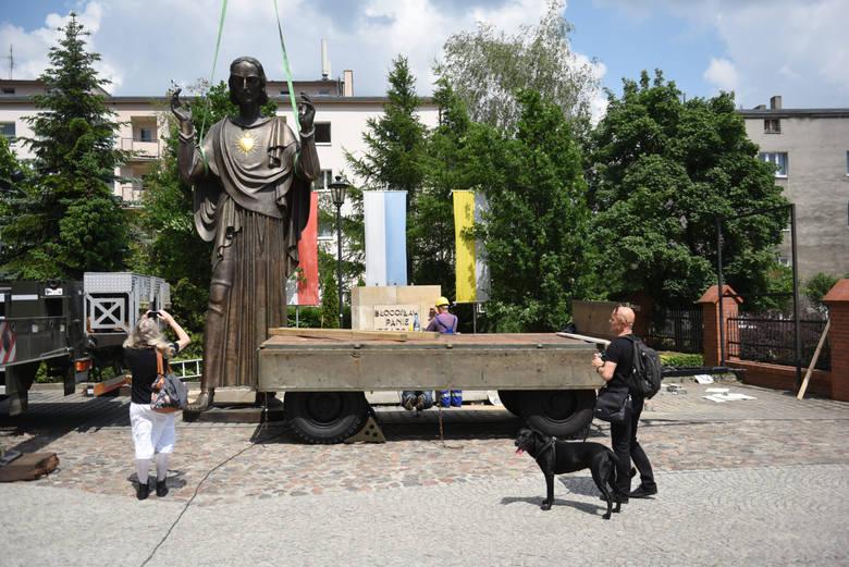 Figurę Jezusa zbada nadzór budowlany