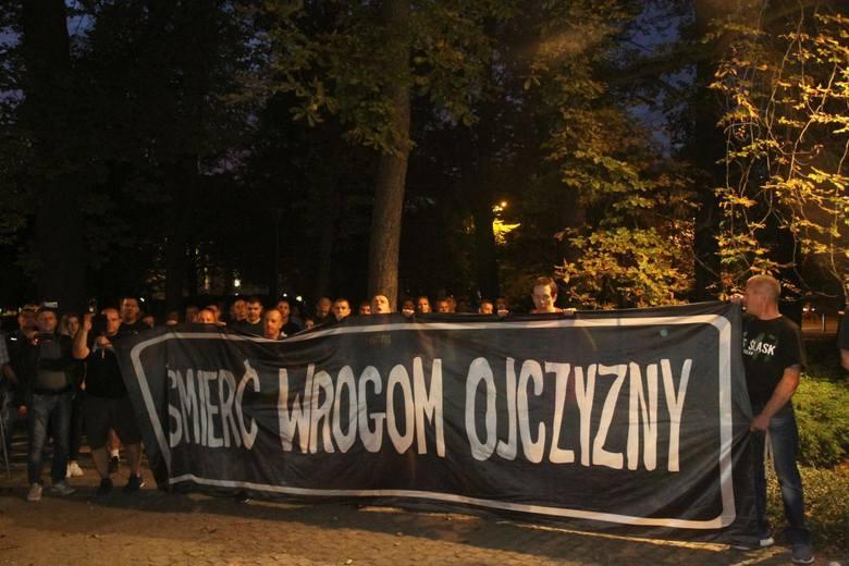 17.09.2018 Wrocław, Pomnik ofiar zbrodni katyńskiej, marsz w rocznice sowieckiej agresji na Polskę