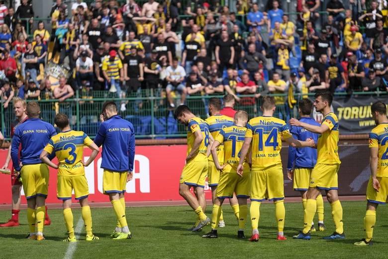 Elana Toruń przegrała 1:2 z Olimpią Elbląg w meczu ostatniej kolejki II ligi. Taki wynik oznacza, że torunianie kończą sezon na czwartym miejscu i nie