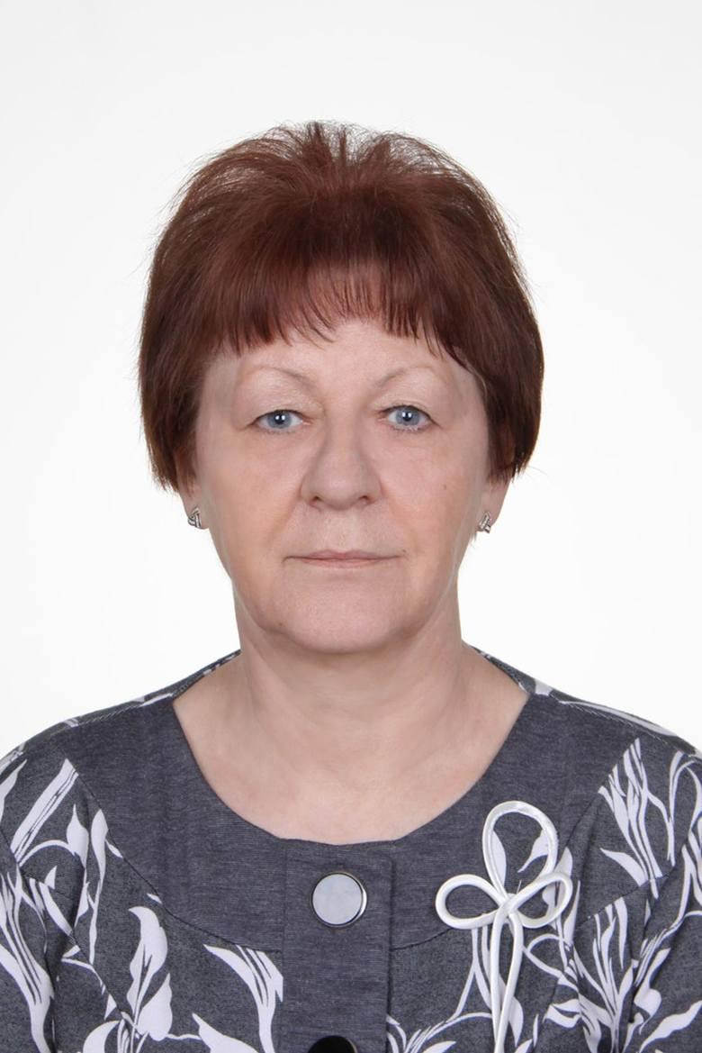 Barbara Maciorowska, 63 lata, okręg nr 3