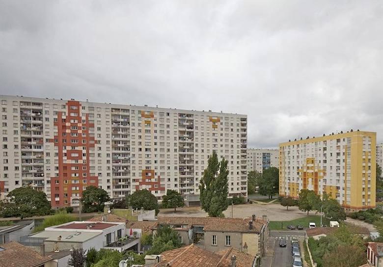 Bloki z wielkiej płyty w Bordeaux przed renowacją, proj. Lacaton & Vassal architectes, Frédéric Druot Architecture, Christophe Hutin Archite