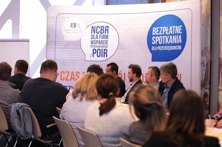 Spotkanie informacyjne NCBR dla firm w Krakowie odbyło się w Jagiellońskim Centrum Innowacji (ul. Bobrzyńskiego)