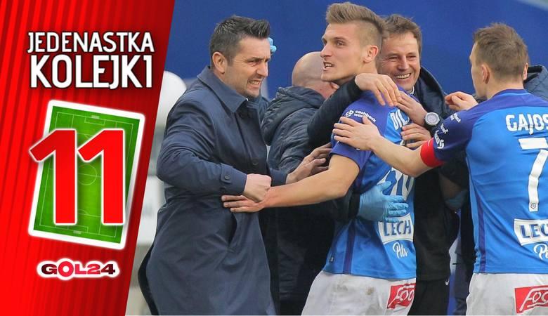 Jedenastka 27. kolejki Lotto Ekstraklasy według GOL24 [GALERIA]
