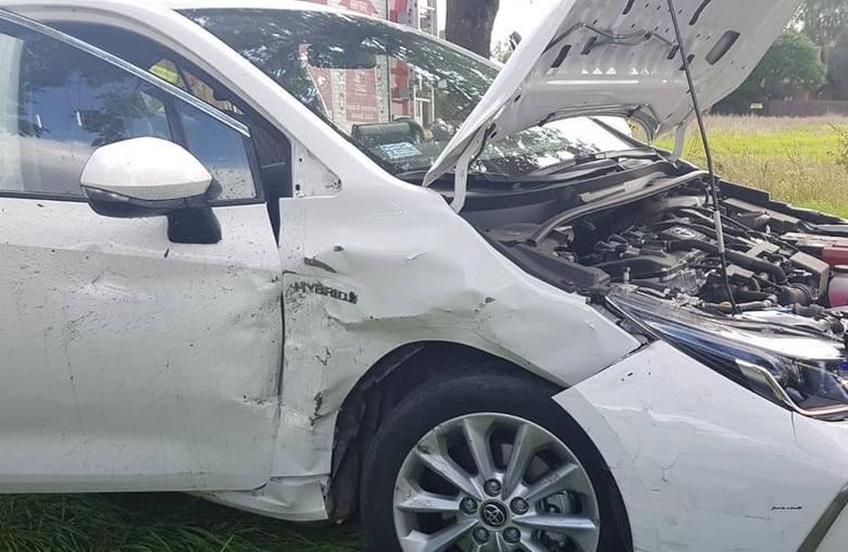 Przasnysz. Wypadek na trasie Bartniki - Stara Krępa. Jedna osoba w szpitalu