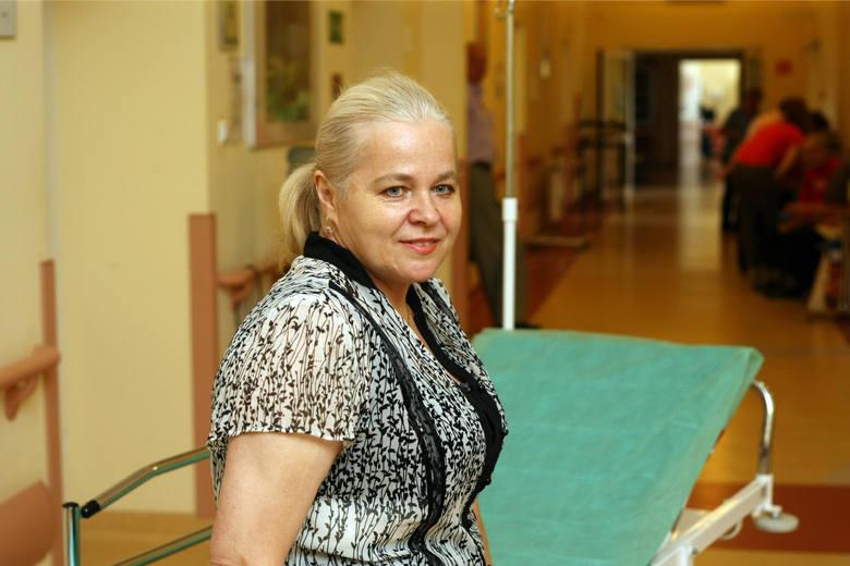 - Jestem szczęśliwa, że mogłam skorzystać z zabiegu metodą HI-PEC - mówiła wczoraj Jolanta Cudo, która siedem dni wcześniej przeszła w DCO operację podania
