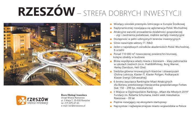 Strefa Aktywności Gospodarczej Rzeszów-Dworzysko. To gospodarcze serce miasta