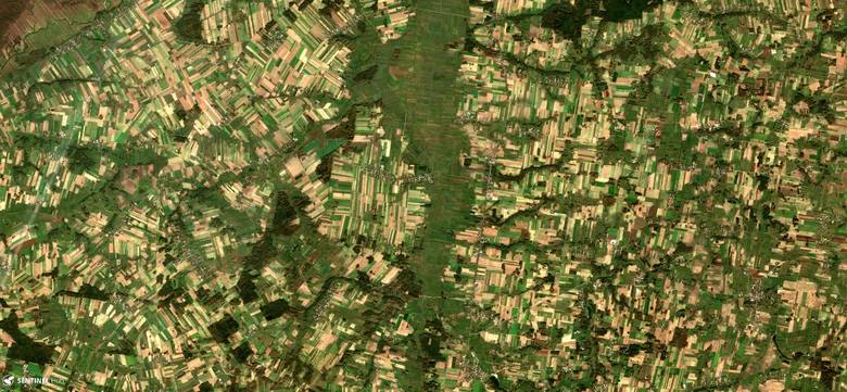 Satelity Sentinel Europejskiej Agencji Kosmicznej systematycznie dostarczają zdjęć naszej planety. Jak wygląda nasz kraj z kosmosu i które miejsce przykuwają